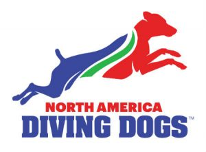 North America Diving Dogs Logo dock diving